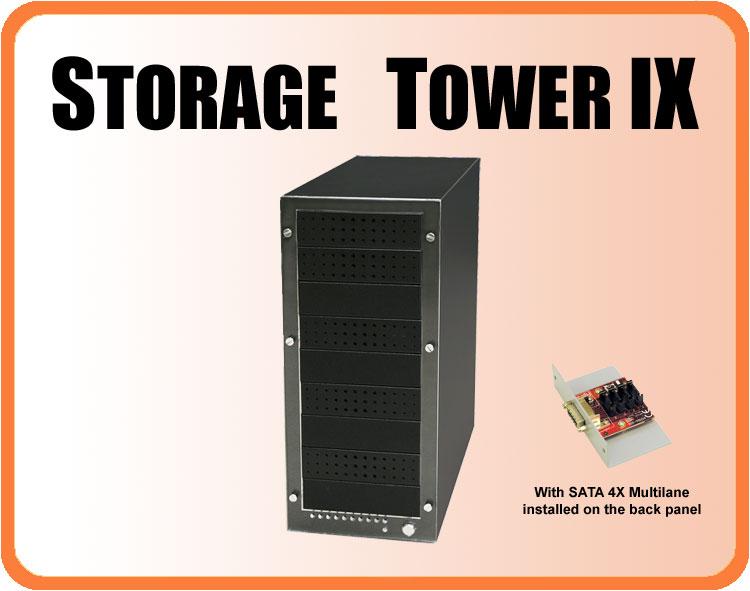 Addonics Storage Tower ST9ML